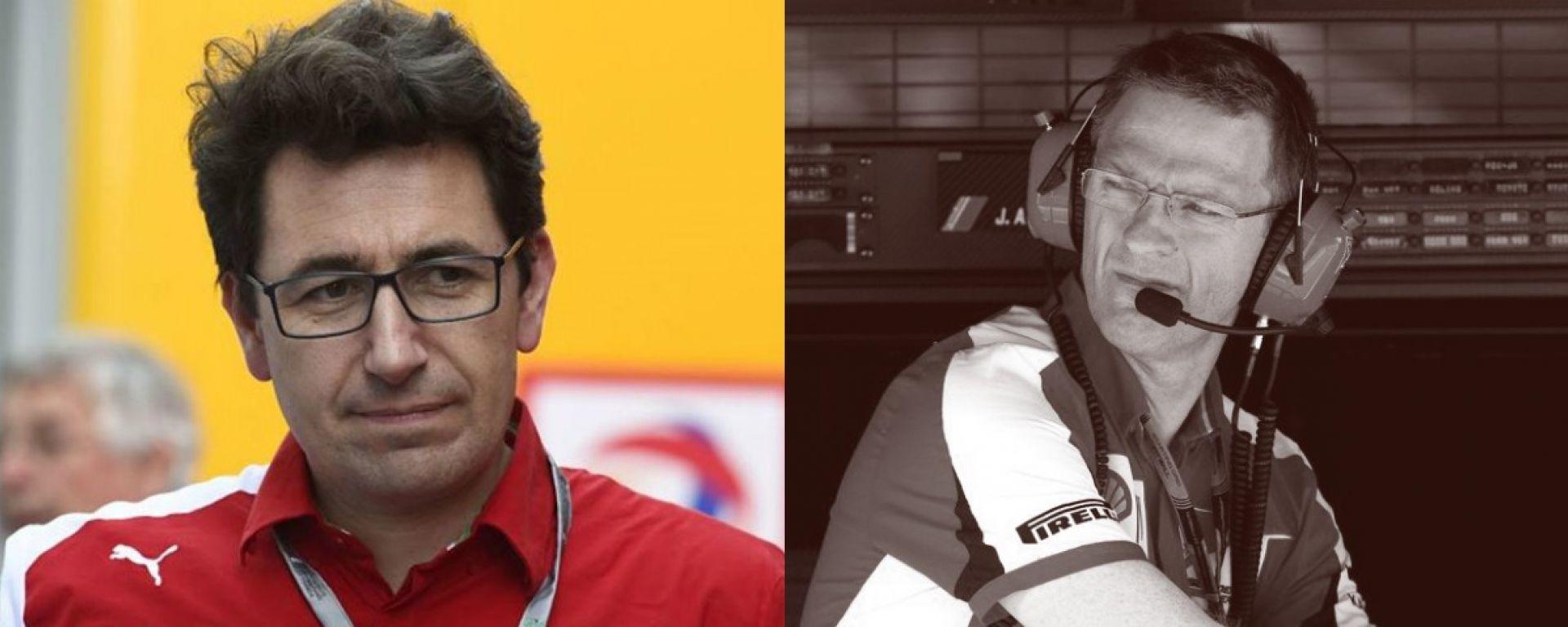 F1: James Allison lascia, Mattia Binotto è il nuovo direttore tecnico della Ferrari