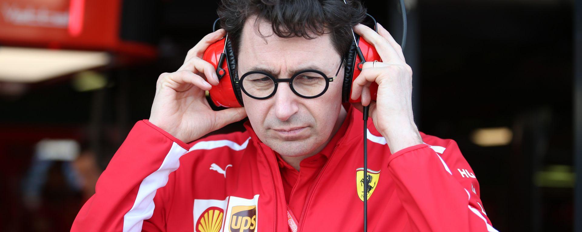 Mattia Binotto, è team principal della Ferrari da gennaio 2019