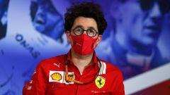 """Mattia Binotto: """"Ho il sostegno dei vertici Ferrari"""""""