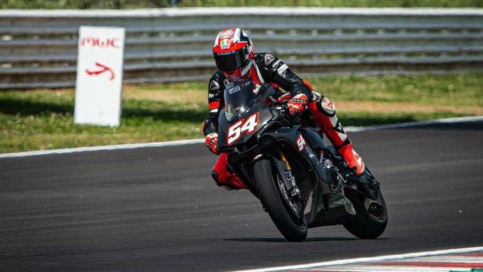 Mattia Pasini al Misano World Circuit