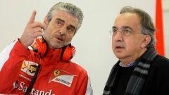 Maurizio Arrivabene con Sergio Marchionne