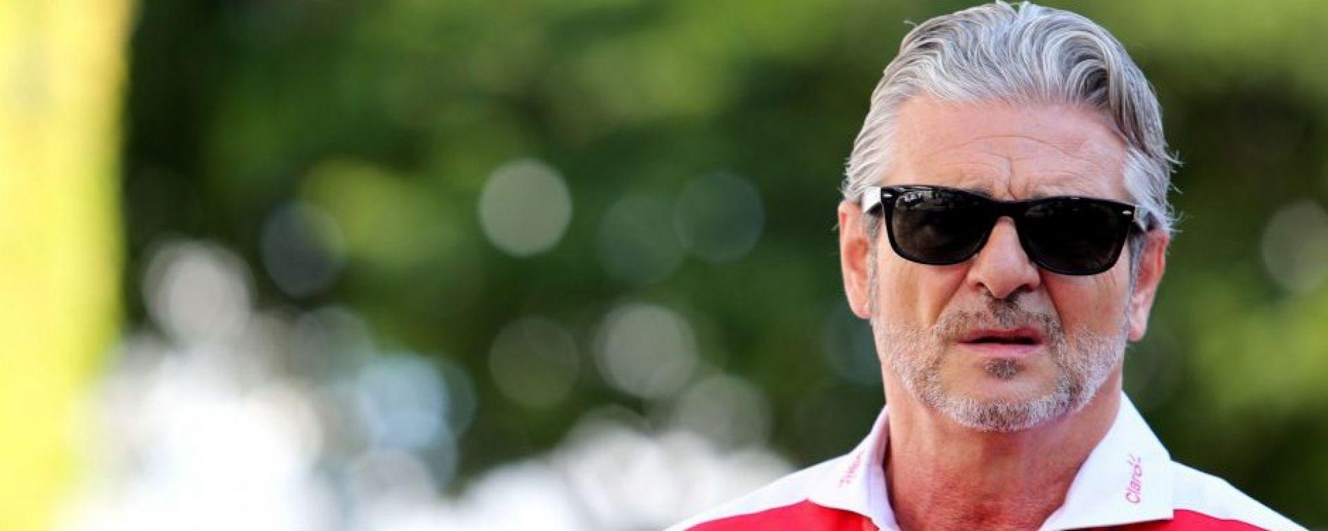 F1 GP Singapore: Arrivabene difende le strategie del team Ferrari