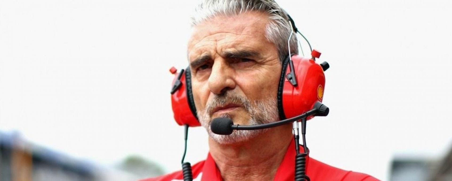 Maurizio Arrivabene, team principal della Ferrari