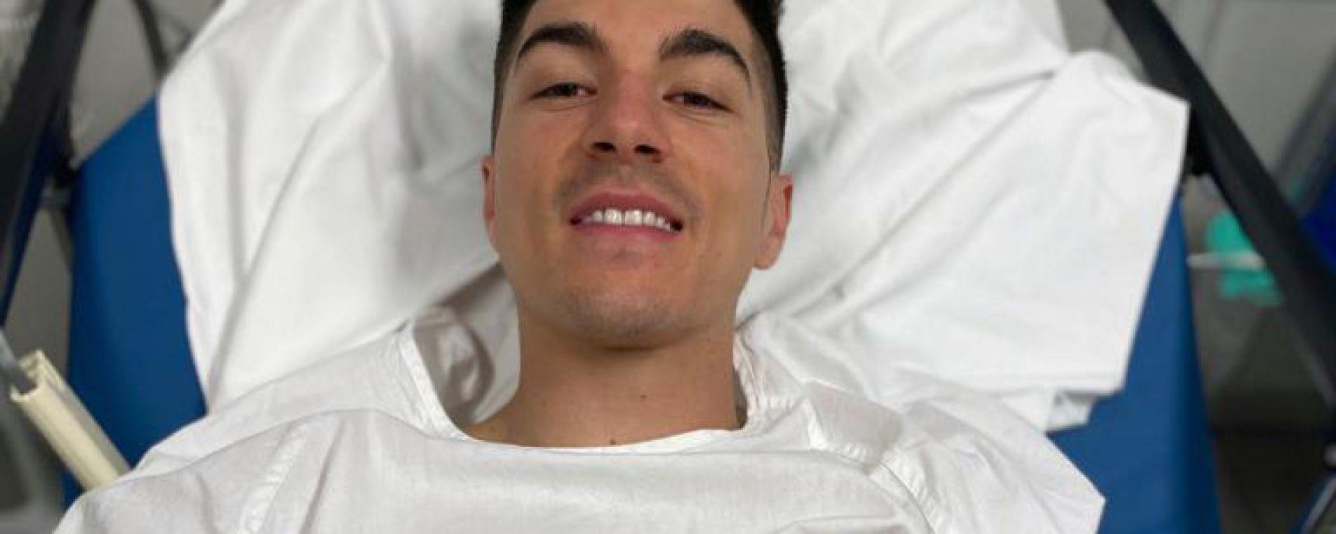 Maverick Vinales in ospedale dopo una caduta con la moto da cross
