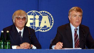 Max Mosley e l'amico Bernie Ecclestone