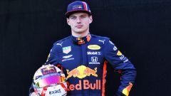 Max Verstappen alla vigilia della stagione 2019