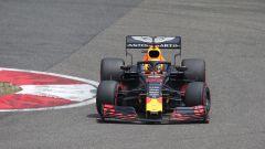 Max Verstappen in azione in Cina