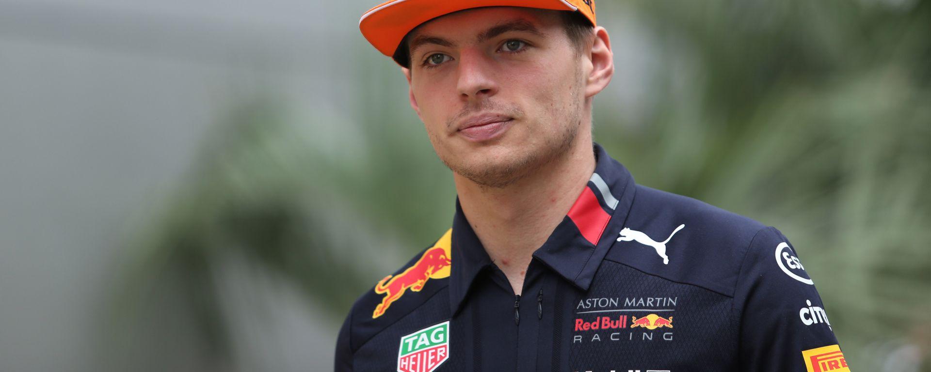 Max Verstappen (Red Bull) a Sochi