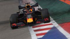 Max Verstappen (Red Bull) in pista a Sochi