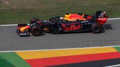 Max Verstappen (Red Bull) in pista in Germania