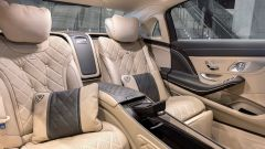 Maybach Classe S restyling, gli interni