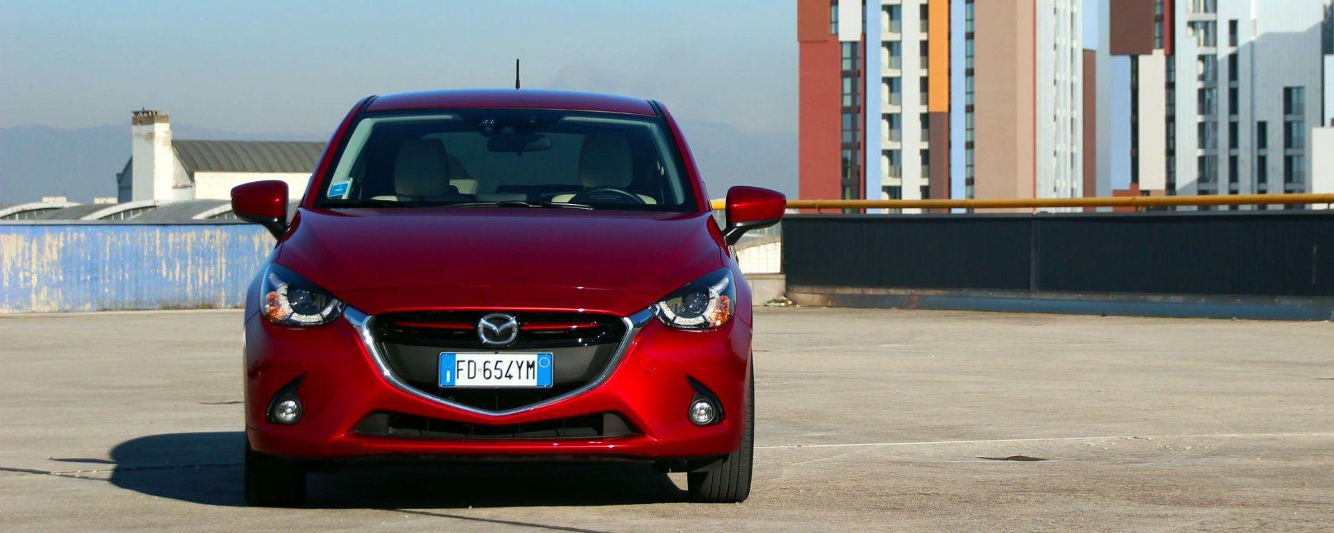 Mazda 2 diesel, la prova