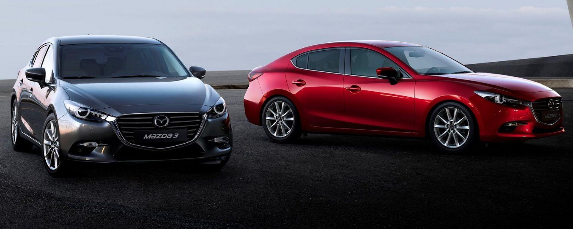 Mazda 3 2017: le novità del restyling e il G-Vectoring Control