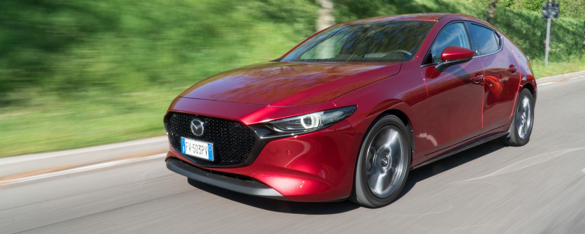Mazda 3 Skyactiv-D: bella da vedere e da guidare