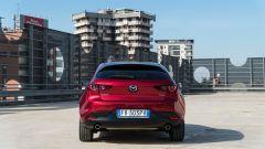 Mazda 3 Skyactiv-D: il posteriore della vettura