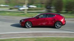 Mazda 3 Skyactiv-D: una dinamica di guida piacevole