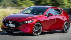 Mazda 3 Skyactiv-x vista 3/4 anteriore