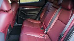 Mazda 3 vista divano posteriore