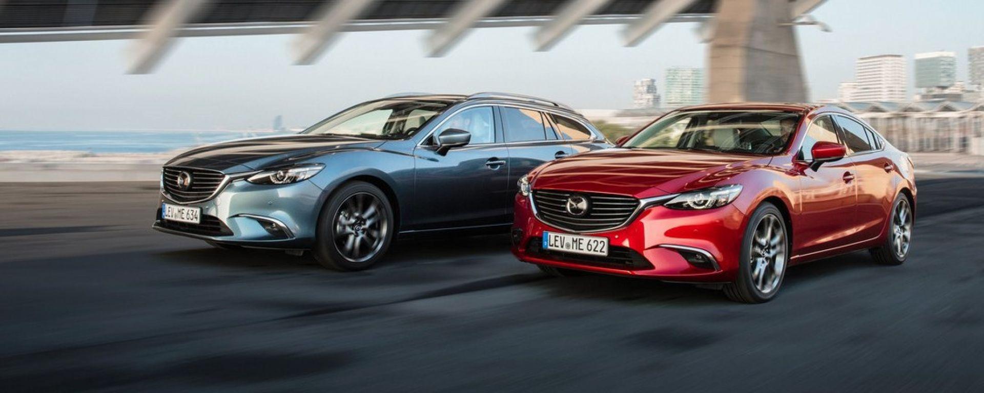 Mazda 6 2017: arriva il G-Vectoring Control