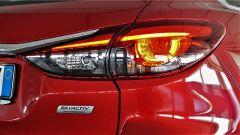 Mazda 6 Wagon 2.2 Skyactive-D AWD automatica: dettaglio del fanale