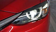 Mazda 6 Wagon 2.2 Skyactive-D AWD automatica: dettaglio del faro