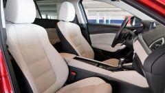 Mazda 6 Wagon 2.2 Skyactive-D AWD automatica: i sedili anteriori