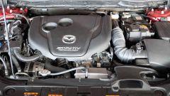 Mazda 6 Wagon 2.2 Skyactive-D AWD automatica: il vano motore