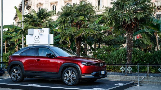 Mazda a MIMO 2021: il SUV elettrico MX-30