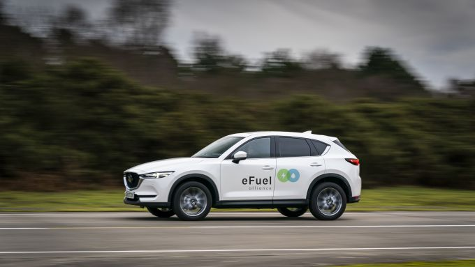 Mazda aderisce a e-fuel Alliance