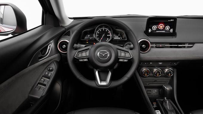Mazda CX-3 2021: gli interni rinnovati