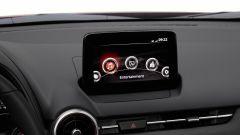 Mazda CX-3 2021: l'infotainment