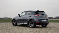 Mazda CX-3 2021: posteriore