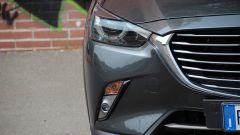 Mazda CX-3: dettaglio anteriore