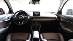 Mazda CX-3: gli interni