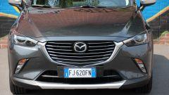 Mazda CX-3: il frontale
