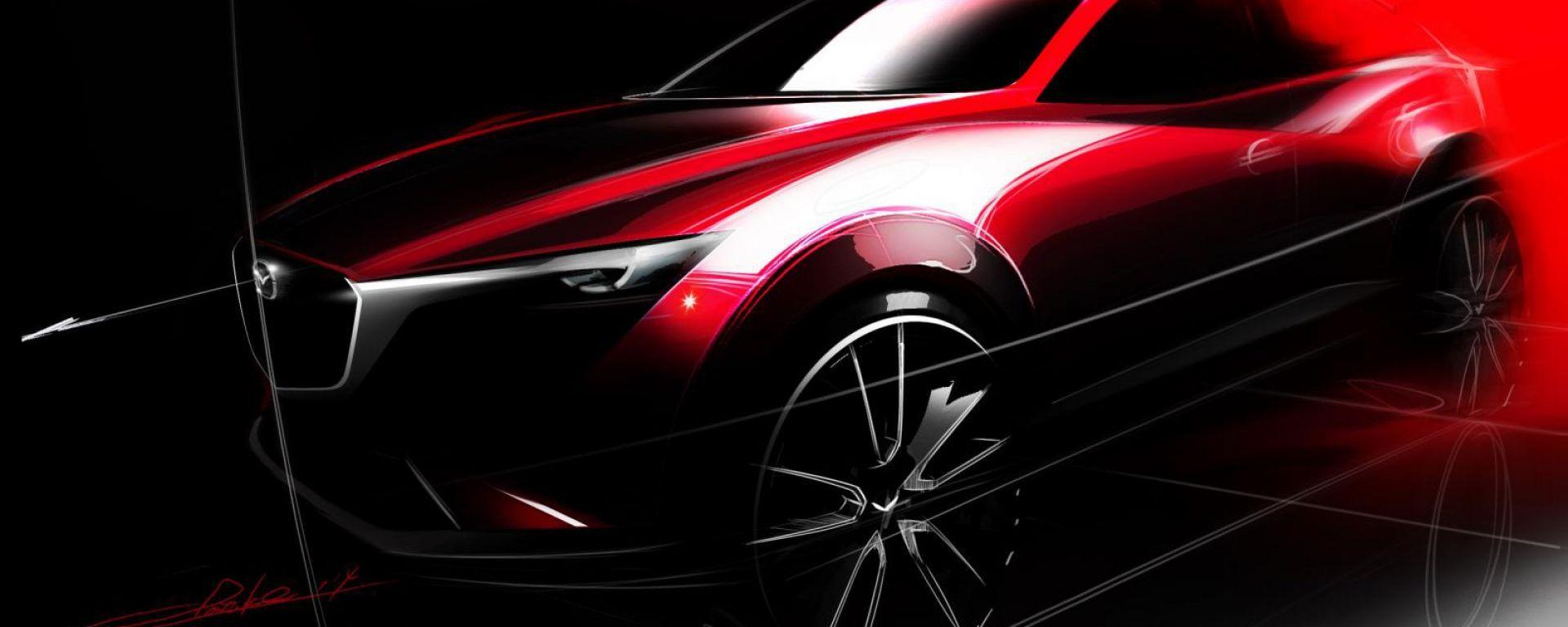 Mazda CX-3: il primo teaser