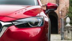 Mazda CX-3 Model Year 2021: dettaglio gruppi ottici