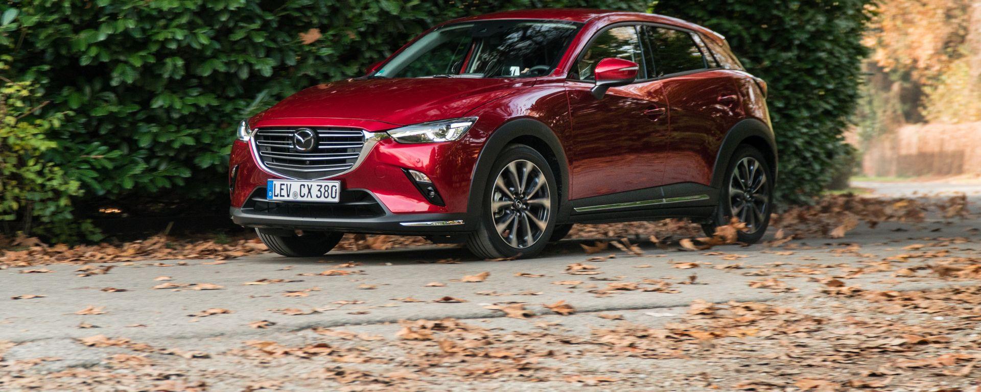 Mazda CX-3 Model Year 2021: la prova su strada