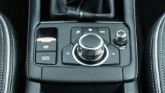 Mazda CX-3 Model Year 2021: pomello per il controllo dell'infotainment