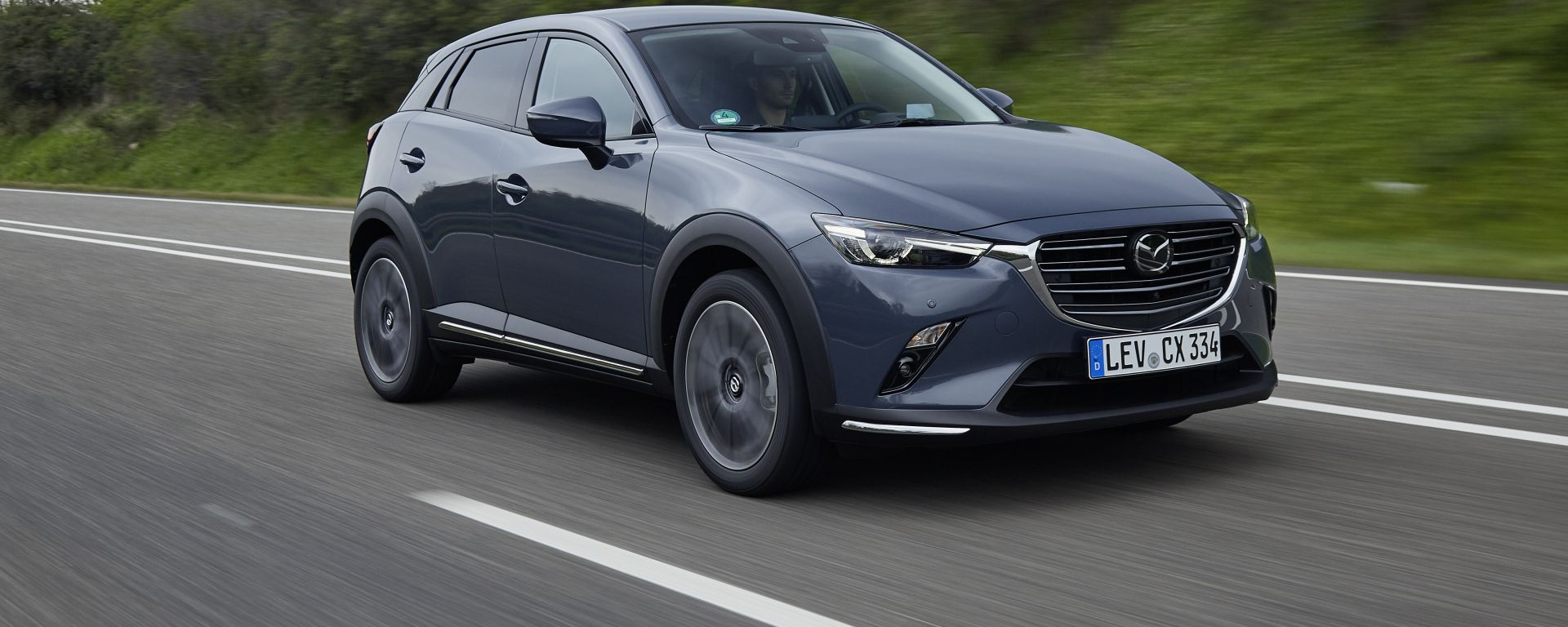 Mazda CX-3 Polymethal Gray Metallic