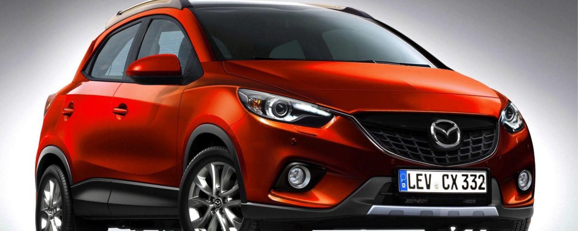 Mazda CX-3, sarà così?