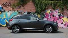 Mazda CX-3: vista laterale