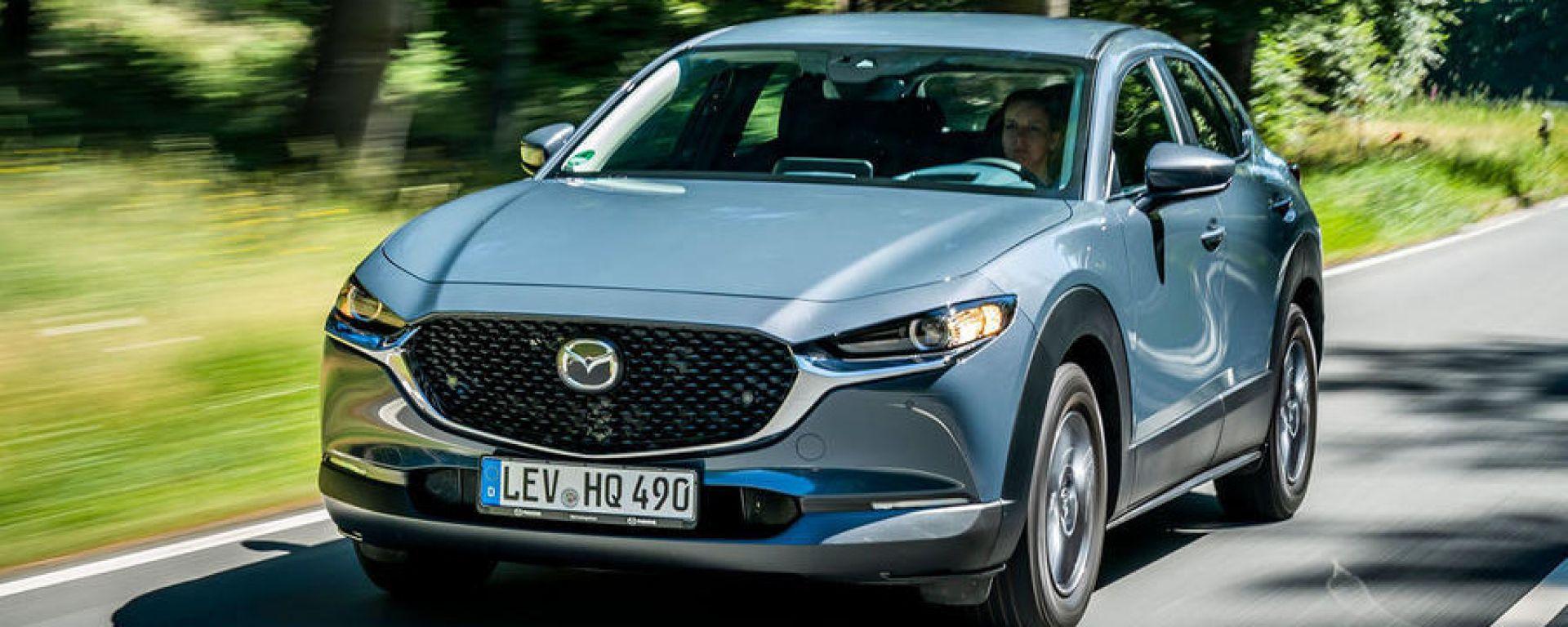 Mazda CX-30: 5 stelle euro ncap