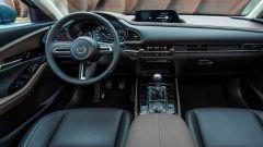 Mazda CX-30, gli interni