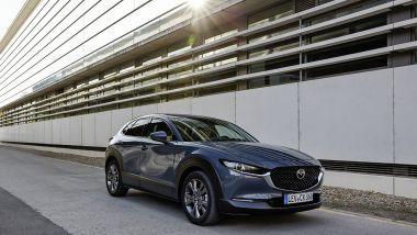 Mazda CX-30 Skyactiv-G 150 CV: più potenza ma consumi uguali al 122 CV