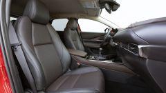 Mazda CX-30 Skyactiv-X 2019: il sedili in pelle