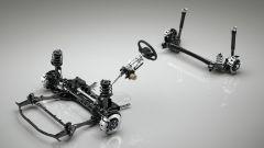 Mazda CX-30 Skyactiv-X 2019: sospensioni, freni e sterzo