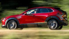 Nuova Mazda CX-30: prova su strada del motore Skyactiv-X