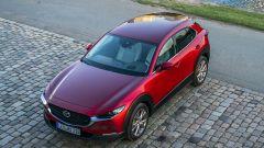 Mazda CX-30 vista tetto statica