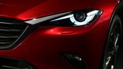 Mazda CX-4: i fari sono a LED